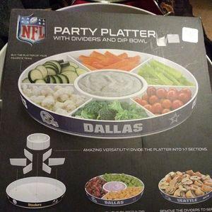 NFL Dallas Cowboys Party bowl